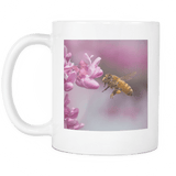 honey bee mug back
