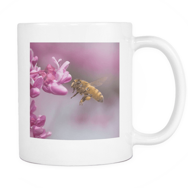 flying honey bee mug