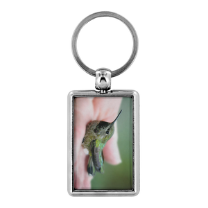 Anna's Hummingbird Keychain, Bird Lover Gifts