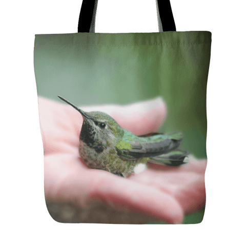 Hummingbird Tote Bag Bird Lover Gift
