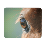horse eye mouse pad