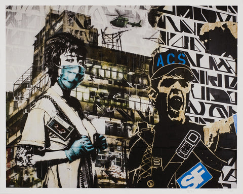 Eddie Colla x D Young V Limited edition collaboration print