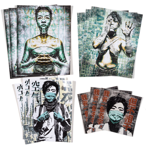 Eddie Colla Stickers 12 pack