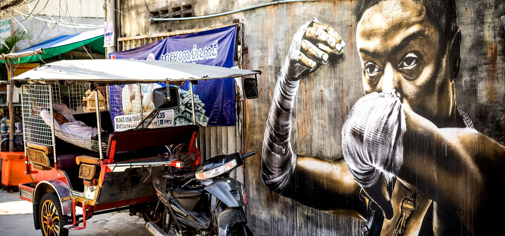 Eddie Colla in Cambodia