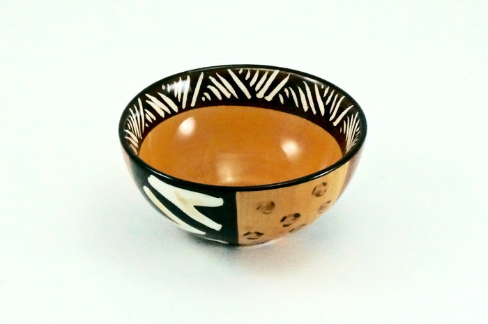 Kapula Animal Print Ceramic Bowl