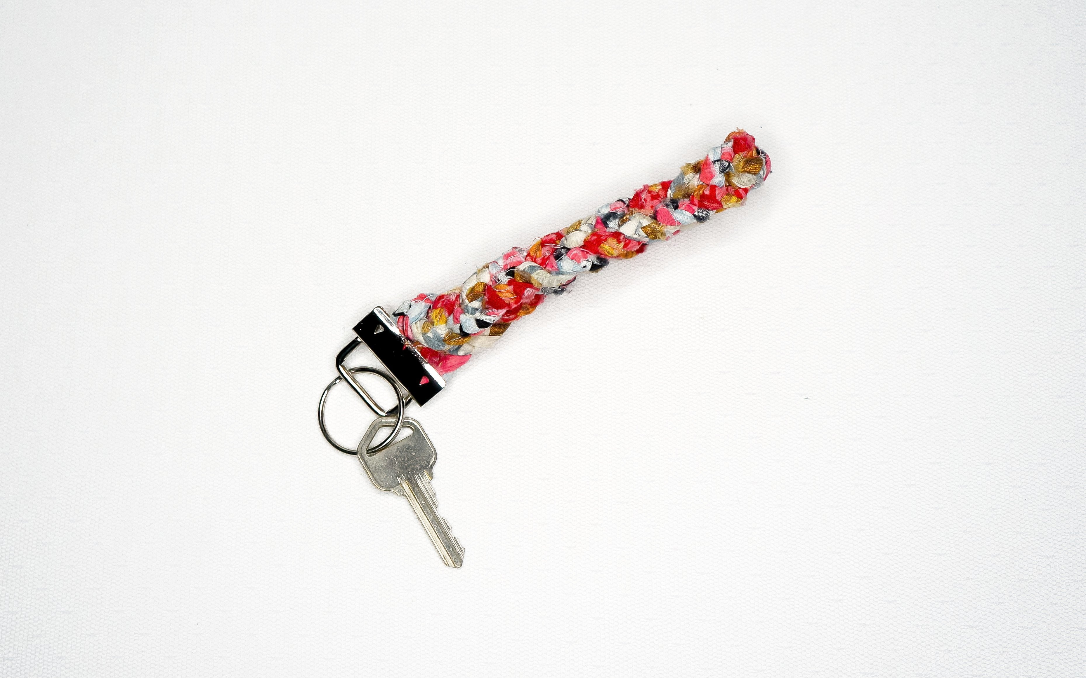 Woven Grace Braided Key Ring