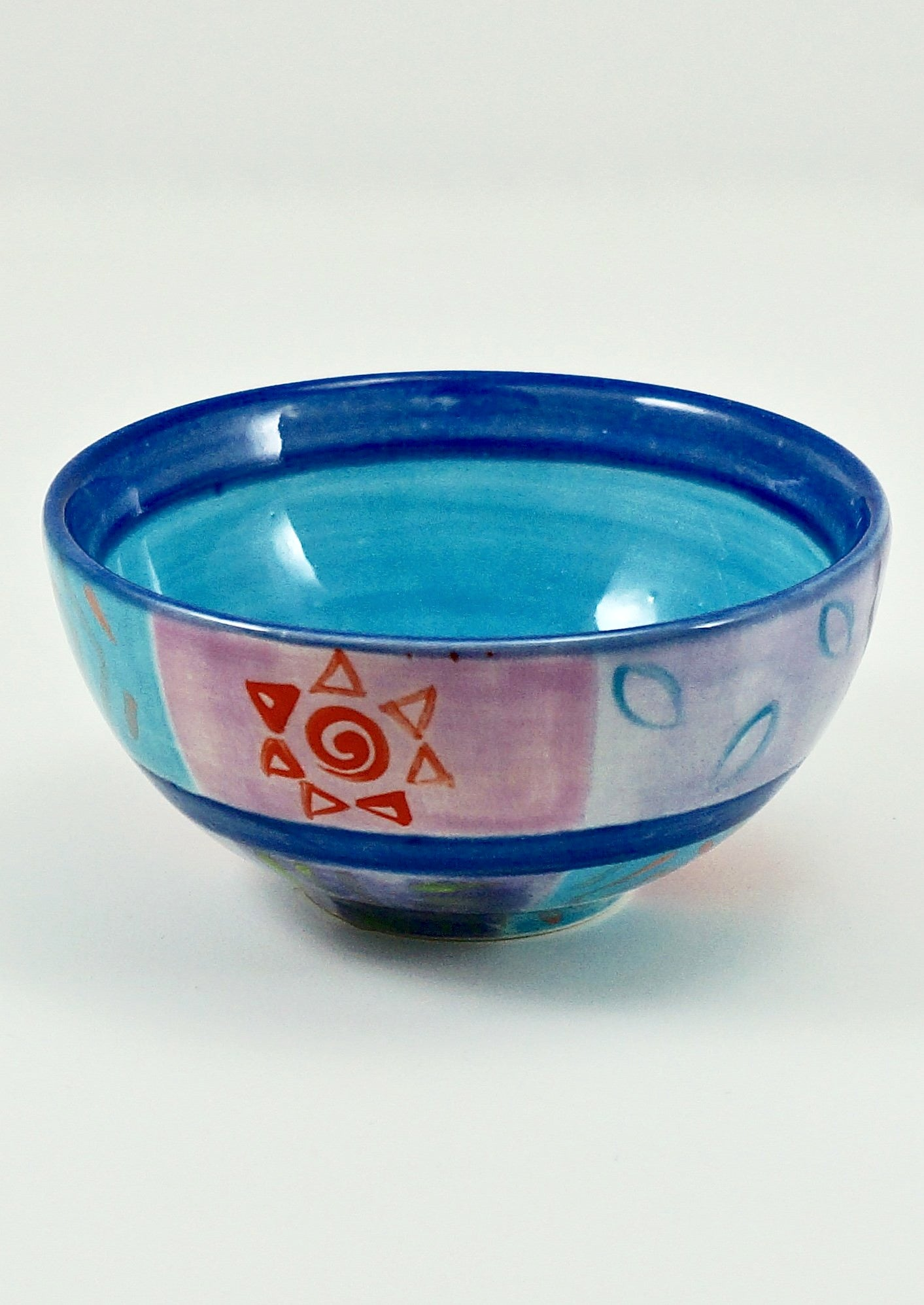 Kapula Blue Moon Ceramic Bowl