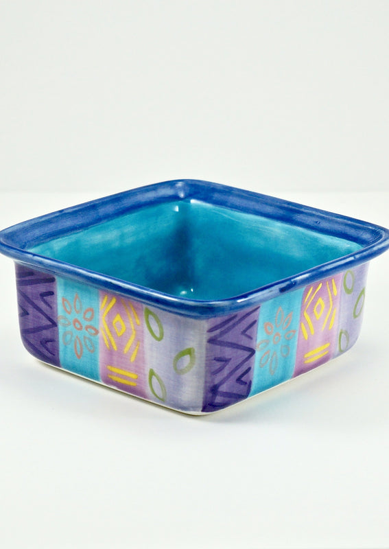 Kapula Blue Moon Ceramic Square Dish