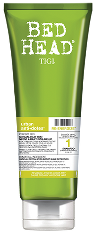 Urban Antidotes Level 1 Re-Energize Shampoo 250ml
