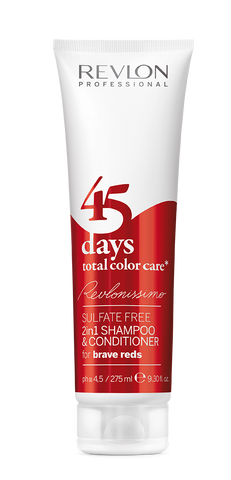 SHAMPOO 45 DAYS  BRAVE RED  x 275 ml