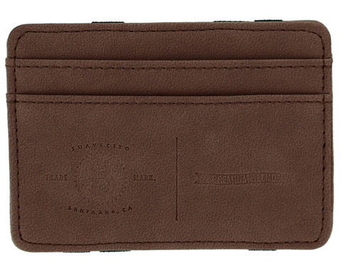 EMBOSSED MAGIC WALLET - COFFE