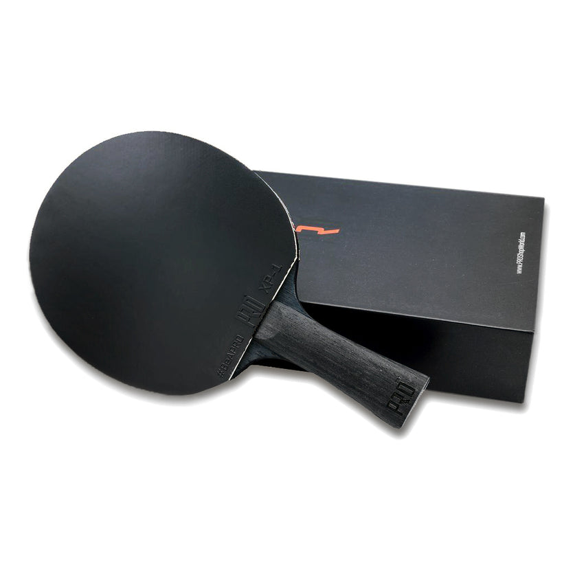 PRO Control Ping Pong paddle with premium box on the side