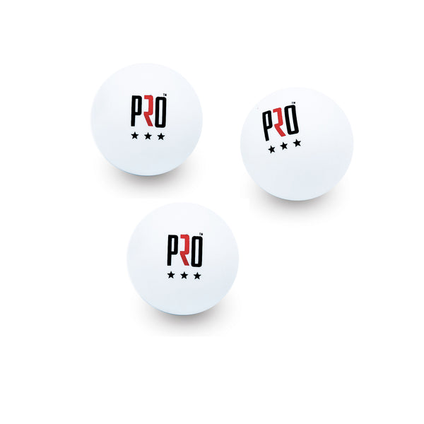 PRO Three Star Table Tennis Ping Pong Balls