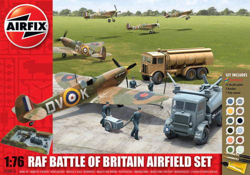 Battle of Britain Airfield Gift Set 1:76