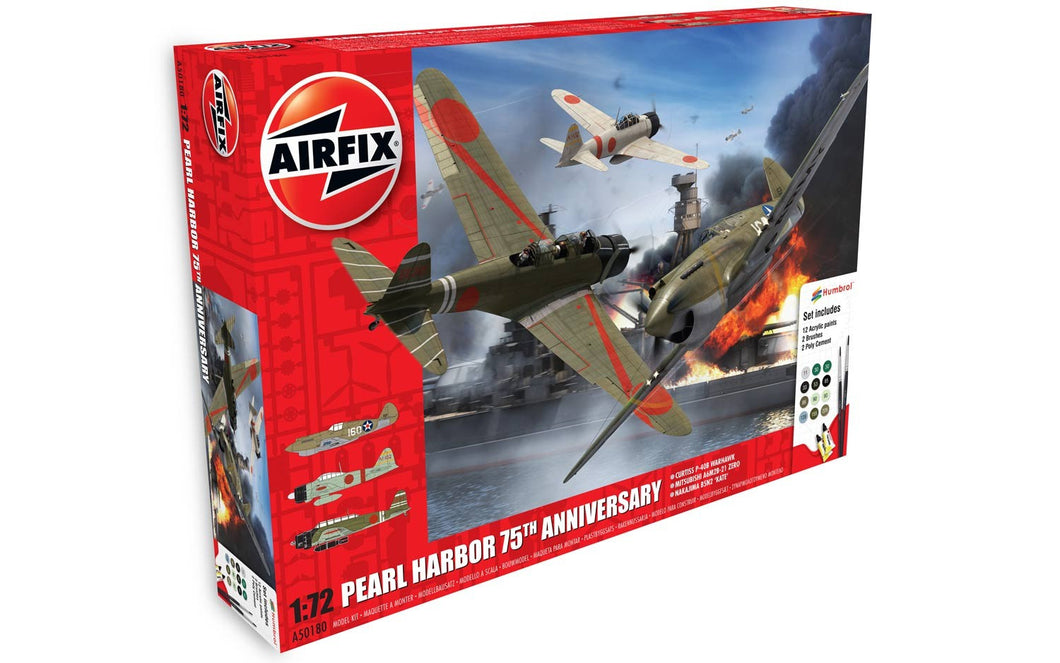 Pearl Harbor - 75th Anniversary Gift Set 1:72