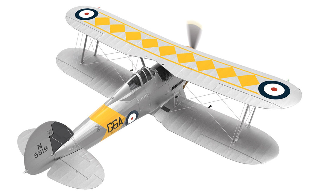 Gloster Sea Gladiator N5519/G6A, No,802 NAS, HMS Glorious, 1939