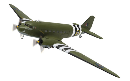 Douglas C-47 Dakota, ZA947, 'KWICHERBICHEN', The Battle of Britain Memorial Flight