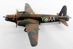 Vickers Wellington 1C, R1162 / AA-Y 'Y for Yorker', No.75 (New Zealand) Squadron (Oversize)