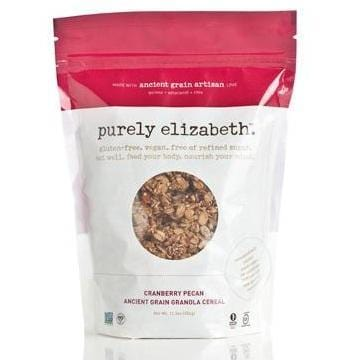 Purely Elizabeth Cranberry Pecan Ancient Grain Granola Cereal (6x12.5 Oz)