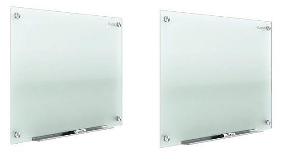 Classroom Boards Lot of 2 Quartet Infinity 48x96 Frameless Frosted Glass Markerboard 2-Pack G9648F EC615004097-05