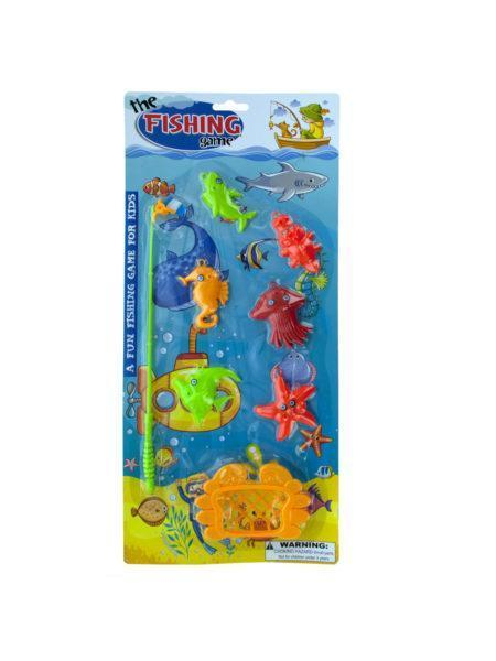 Collectibles Toys Kids' Fishing Game Set (Available in a pack of 12) 731015252671 KIKK418
