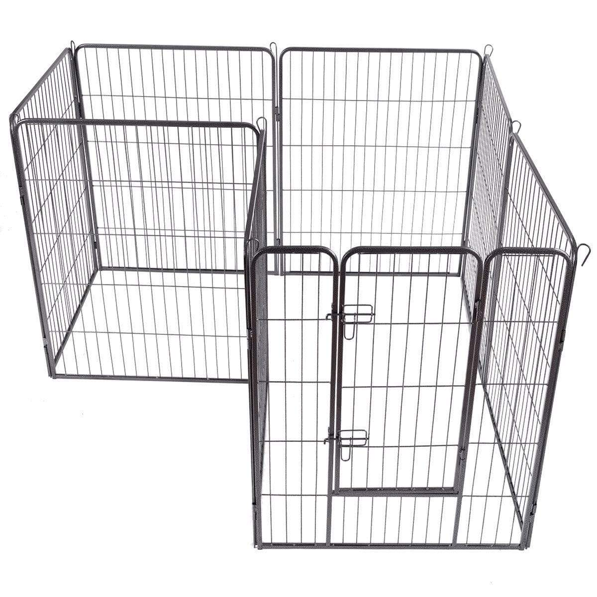 "Dog Beds & Mats 40"" 8 Metal Panel Heavy Duty Pet Playpen Dog Fence CTWPS7067"