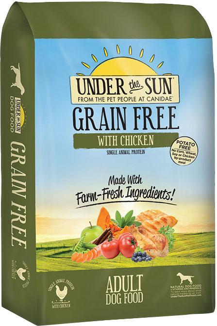 Dog Food Under The Sun Grain Free Dry Dog Food 640461821044 TP012005
