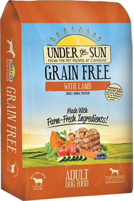 Dog Food Under The Sun Grain Free Dry Dog Food 640461821082 TP012007