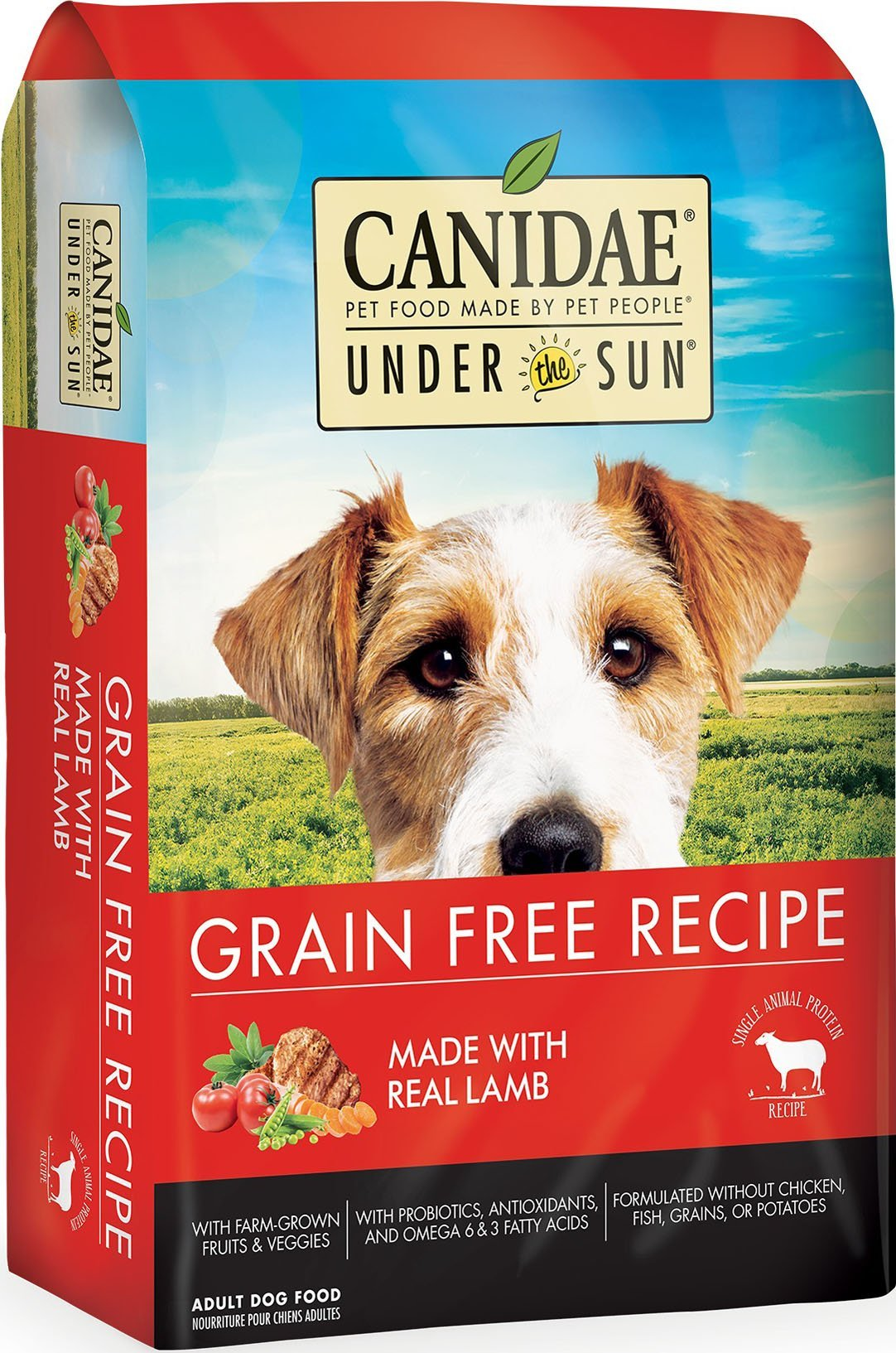 Dog Food Under The Sun Grain Free Dry Dog Food 640461821945 TP012009