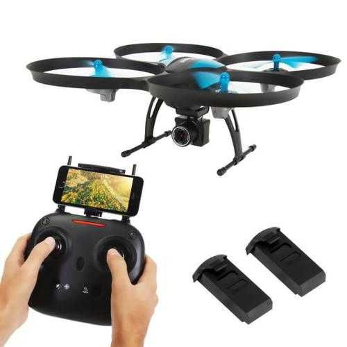 Electronic Toys & Games WiFi Drone Quad-Copter Wireless UAV with HD Camera + Video Recording 842893100265 W290-SLRD42WIFI