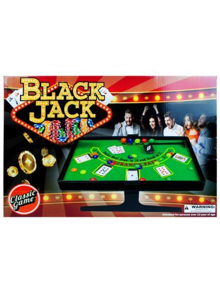 Kids Board Games Texas Hold'em and Blackjack Game Set (Available in a pack of 1) 731015272754 KIFB425