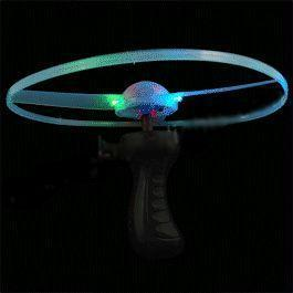 Party supplies Blinkee Light Up Flying Saucer 754164443912 BLI1535020