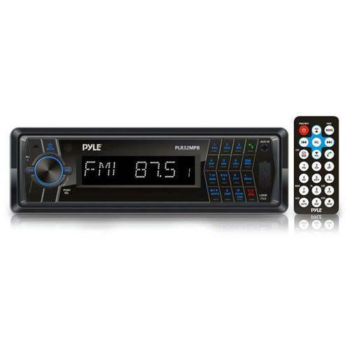 Stereos In-Dash AM/FM-MPX Radio with SD/USB/MP3 Playback, 3.5mm Aux-In, Bluetooth Wireless Streaming 068888751841 W290-RBPLR32MPB