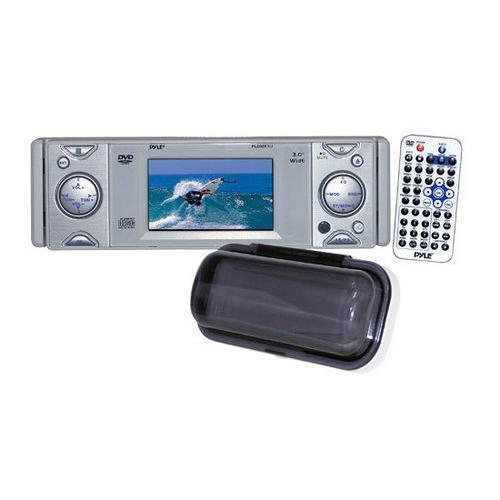 Stereos In-Dash Marine CD/DVD Receiver with 3'' Built In Monitor 068888889179 W290-RBPLDMR3U