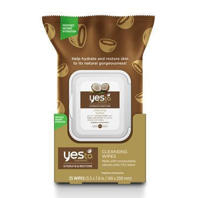 THEIR PERSONAL CARE, HEALTH & BEAUTY Yes To Coconut Cleansing Wipes (3x30 Ct) 815921017552 BWA64328