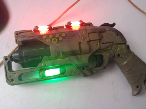 Steampunk / Deiselpunk / Fallout / Fully customizable Hammershot !! LED lite...powered off a USB Cable !!