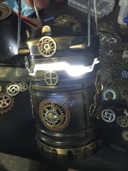 Steampunk Solar Celll !!! Light - Power - Style !!
