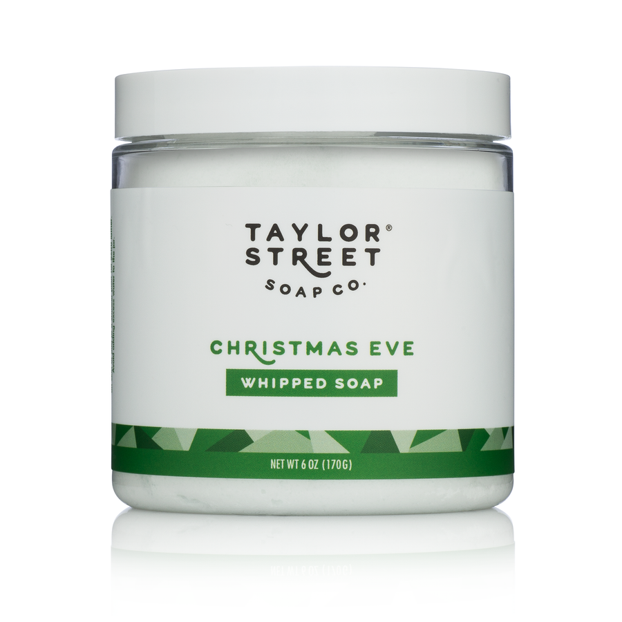 christmas eve whipped soap