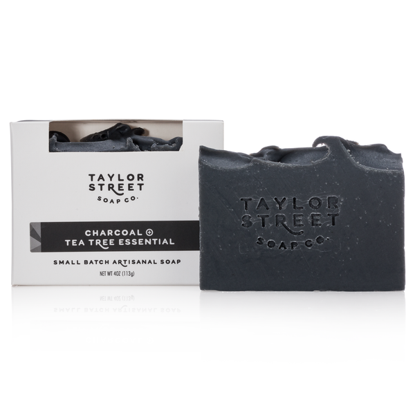Charcoal & Tea Tree Essential Oil Soap Bar