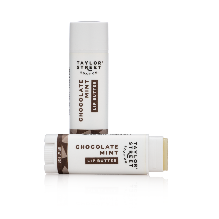 chocolate mint lip butter lip balm