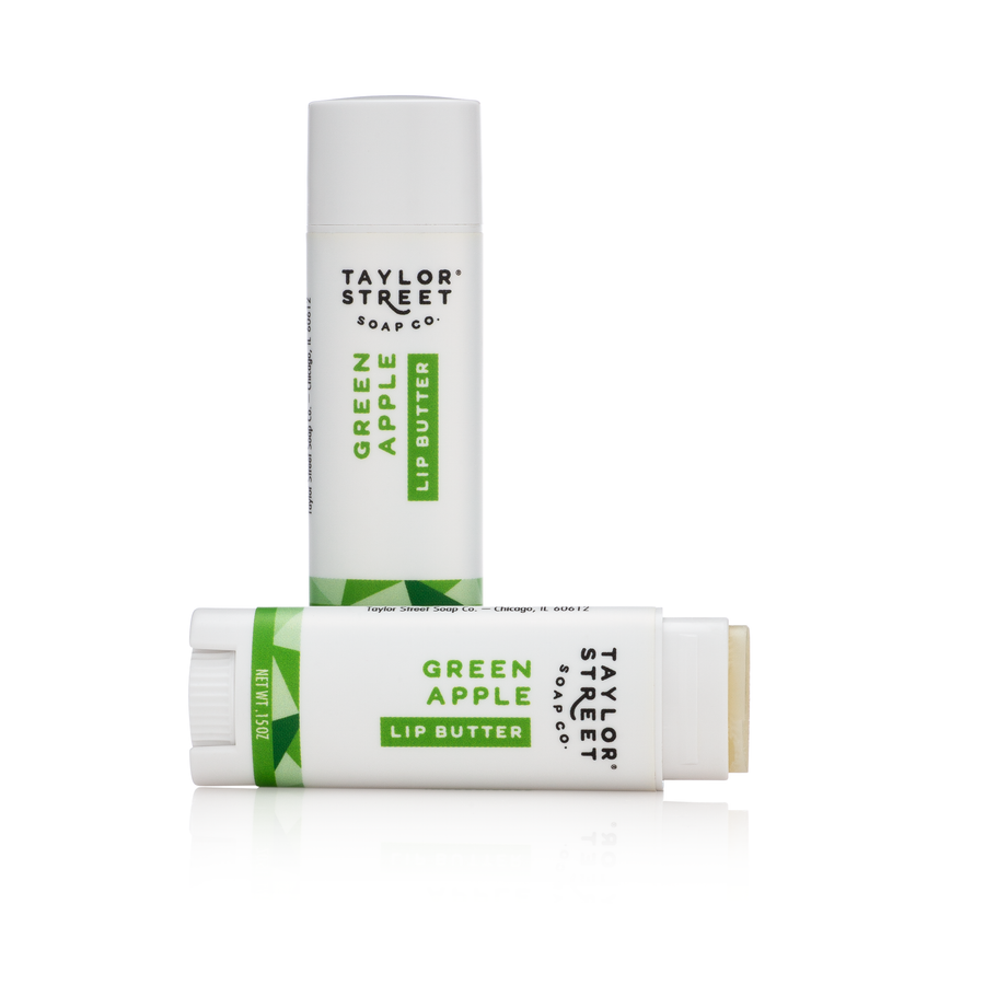 green apple lip balm butter