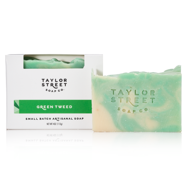 Green Tweed Soap Bar