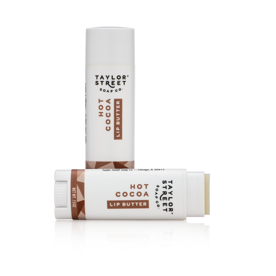 hot cocoa lip butter lip balm