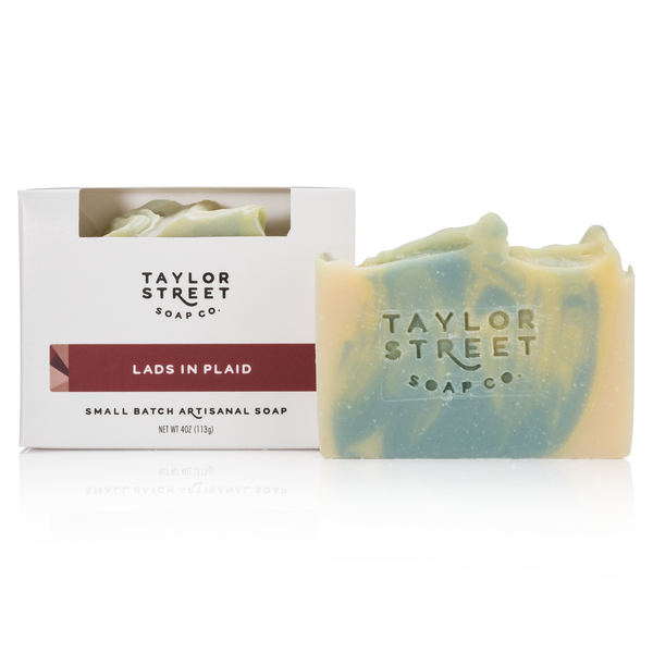 Lads in Plaid Soap Bar