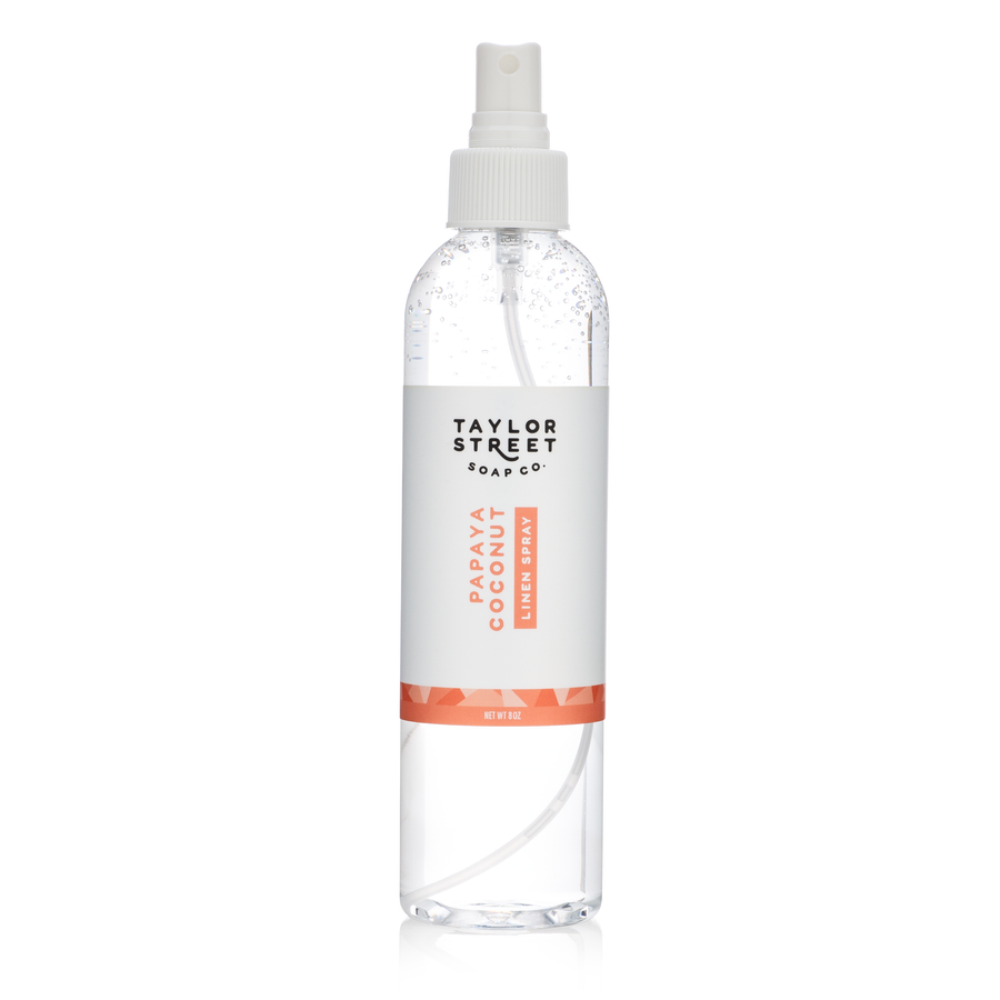 papaya coconut linen room spray