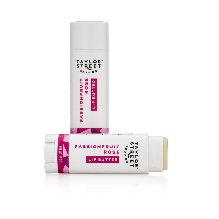 passionfruit rose lip balm butter