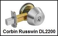 Corbin Russwin Grade 2 DL2200 Series Deadbolt Locks