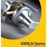 Yale 5300 Series Lever
