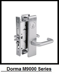 Dorma M9000 Series Mortise Locks