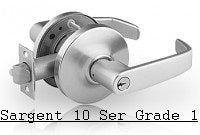 Sargent 10 Series Commercial Lever Locks